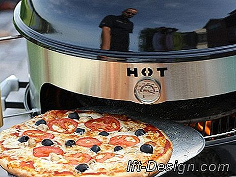Verander je barbecue in een pizzaoven: barbecue