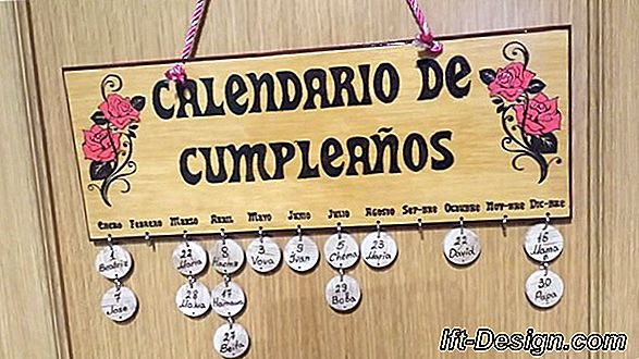 El calendario del advenimiento familiar y creativo.