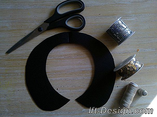 Tuto: haciendo un collar de fieltro de Peter Pan