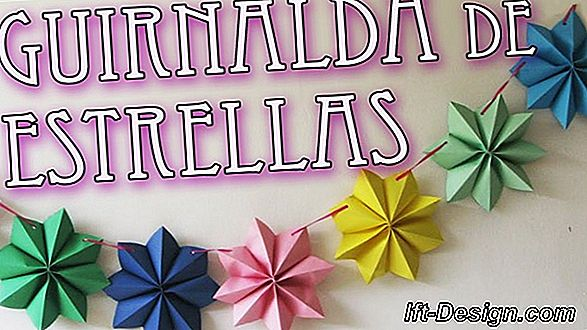 Una brillante guirnalda floral hecha de papel (video)