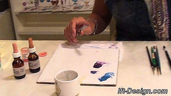 Video: crear una pintura decorativa de aluminio.