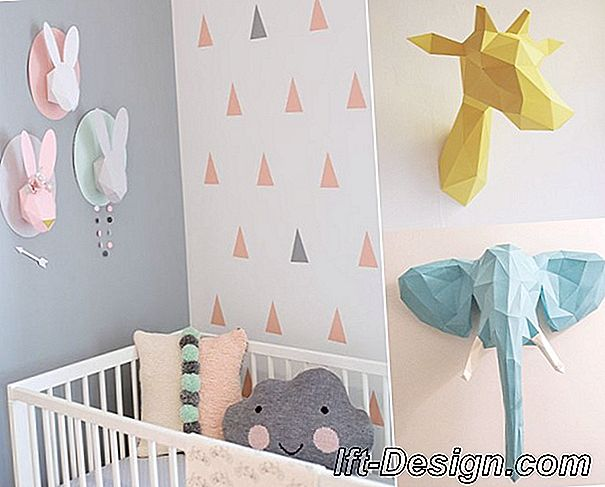 5 Ideas baratas para decorar paredes infantiles.