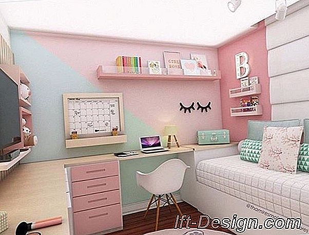 Decoración femenina para la adolescente.