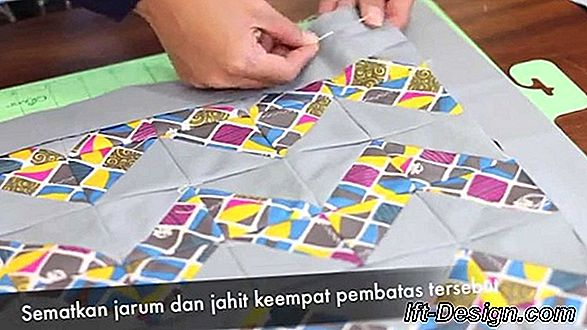 Tutorial: merenda sarung bantal chevron