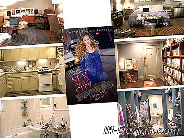 Apartemen Carrie dan Big di Sex and the city 2