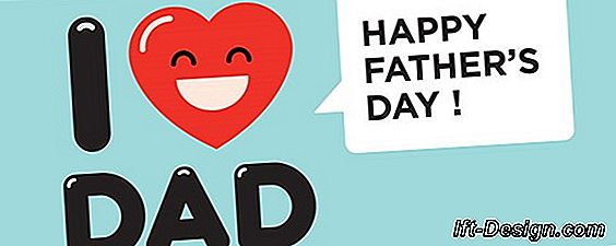 Father's Day: un poster preventivo da scaricare