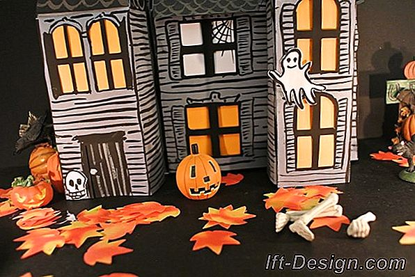 Tuto: padarīt Haunted House par Halloween