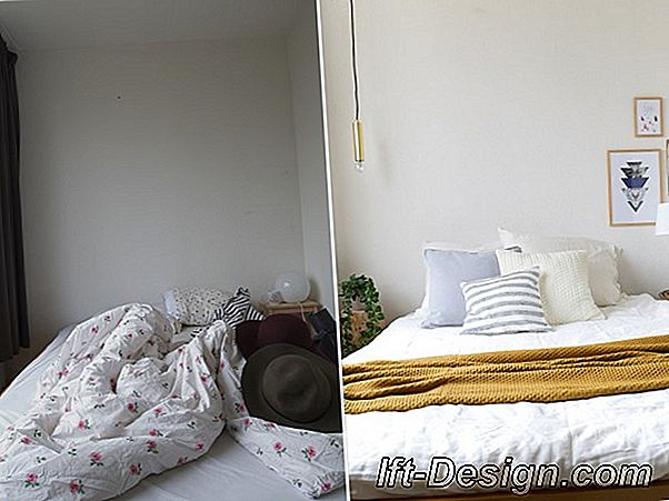 Before / After: Make-over van een woonkamer in de lengte